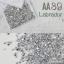 เพชรชวาAA สีเงินเมทาลิค Labrador รหัส AA-39 คละขนาด ss3 ถึง ss30 ปริมาณประมาณ 1300-1500เม็ด thumbnail 1