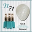 สีเจลทาเล็บ NICE สีสวยขวดสวย ยกเซ็ต 81 สี แถมอัลบั้มฟรี 1เล่มใหญ่ thumbnail 78