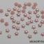 มุกติดเล็บ รูปดาว สีชมพู 4 มิล 50 ชิ้น thumbnail 2