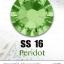 เพชรสวารอฟสกี้แท้ ซองใหญ่ สีเขียว Peridot รหัส 214 คลิกเลือกขนาด ดูราคา ด้านใน thumbnail 4