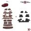 พรมรถยนต์ 7 D Anti Dust รถ HONDA ALL NEW CRV (Gen5) 2017-2021 thumbnail 1