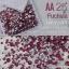 เพชรชวาAA สีชมพูเข้มอมม่วง Fuchsia รหัส AA-25คละขนาด ss3 ถึง ss30 ปริมาณประมาณ 1300-1500เม็ด thumbnail 1