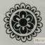 YM-K083 สติ๊กเกอร์สักแฟชั่น sticker tattoo ลายนกยุง โบ15.5x10.8 cm thumbnail 3