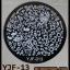 แผ่นปั๊มลายเล็บ รหัส YJF ทรงกลม thumbnail 4
