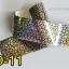 ฟอยล์ติดเล็บ ลายสีเงินดำ รหัส SD Nails foils เลือกสีด้านใน ขนาด 4X40 เซน thumbnail 11