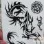 สติ๊กเกอร์ลายสัก tattoo รหัส YM คลิกเลือกแบบด้านใน thumbnail 16