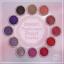 Sweet Passionate Pearl Powder ผงมุกโทนสีชมพูม่วง ชุด12เชดสี แถมแปรงขัด 12 ชิ้น thumbnail 2
