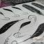 YM-K042 สติ๊กเกอร์สักแฟชั่น sticker tattoo ลายขนนก 15.5x10.8 cm thumbnail 8
