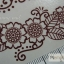 YM-K099 สติ๊กเกอร์สักแฟชั่น sticker tattoo ลายดอก 15.5x10.8 cm thumbnail 2