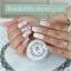 สีเจล เพ้นท์นูน สีขาว รหัส 01 Memory Nail Painting Gel กระปุก 10 กรัม thumbnail 2