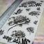 YM-X240 สติ๊กเกอร์ลายสัก tattoo ลายดอกไม้ 18 x 7 cm thumbnail 3