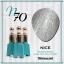สีเจลทาเล็บ NICE สีสวยขวดสวย ยกเซ็ต 81 สี แถมอัลบั้มฟรี 1เล่มใหญ่ thumbnail 77