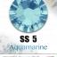 เพชรสวารอฟสกี้แท้ ซองเล็ก สีฟ้า Aquamarine รหัส 202 คลิกเลือกขนาด ดูราคา ด้านใน thumbnail 2