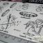 YM-K013 สติ๊กเกอร์สักแฟชั่น sticker tattoo ลายกามเทพ 15.5x10.8 cm thumbnail 7