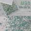 เพชรชวาAA สีเขียวมิ้น ขุ่น รหัส AA-93 คละขนาด ss3 ถึง ss30 ปริมาณประมาณ 1300-1500เม็ด thumbnail 1