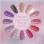 Sweet Passionate Pearl Powder ผงมุกโทนสีชมพูม่วง ชุด12เชดสี แถมแปรงขัด 12 ชิ้น thumbnail 1