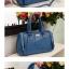 Axixi-กระเป๋าหนังสีน้ำเงิน ทรงคล้าย Balenciga thumbnail 4