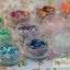 กากเพชรวงกลมฉลุ เหลือบรุ้ง 12สี 12กระปุก thumbnail 4