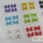 โบว์พลาสติกขนาดเล็ก กล่องดำ 48 ชิ้น thumbnail 4