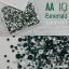 เพชรชวาAA สีเขียวเข้ม Emerald รหัส AA-10 คละขนาด ss3 ถึง ss30 ปริมาณประมาณ 1300-1500เม็ด thumbnail 1