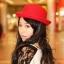 หมวกชาลี สีแดง thumbnail 2