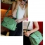 พร้อมส่ง-กระเป๋าสะพายยาวสีเขียว thumbnail 2