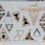 รหัส W สติ๊กเกอร์แทททู เมทัลลิก เงินทอง แผ่นใหญ่ คลิกเลือกลายด้านใน thumbnail 19