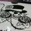 YM-K028 สติ๊กเกอร์สักแฟชั่น sticker tattoo ลายกระโหลก 15.5x10.8 cm thumbnail 10