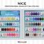 สีเจลทาเล็บ NICE สีสวยขวดสวย ยกเซ็ต 81 สี แถมอัลบั้มฟรี 1เล่มใหญ่ thumbnail 7