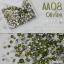 เพชรชวาAA สีเขียว Olivine รหัส AA-08 คละขนาด ss3 ถึง ss30 ปริมาณประมาณ 1300-1500เม็ด thumbnail 1