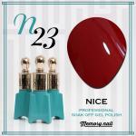 สีเจล NICE รหัส N-23