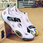รองเท้าลุยน้ำ แห้งไว Eva Air สีขาว/เหลือง เบอร์ EUR 39 ( 245 มม.)