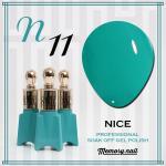 สีเจล NICE รหัส N-11