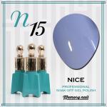สีเจล NICE รหัส N-15