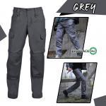 กางเกงขายาวยุทธวิธี Taro สีเทา(Grey) ไซส์ S