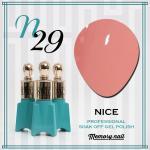 สีเจล NICE รหัส N-29