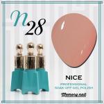 สีเจล NICE รหัส N-28