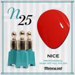 สีเจล NICE รหัส N-25