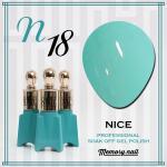 สีเจล NICE รหัส N-18