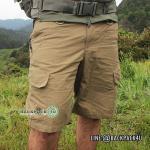 กางเกงขาสั้น Taro สีน้ำตาล ไซส์ S เอว 32