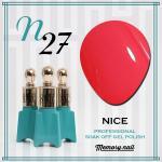 สีเจล NICE รหัส N-27