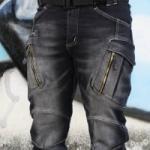 กางเกงยีนส์ Jeans The Tank รุ่น GZ สีเทา ไซส์ XS