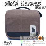 กระเป๋ากล้อง Mobi Canvas Size M สำหรับกล้อง Mirrorless สีกากี