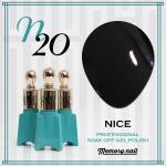 สีเจล NICE รหัส N-20