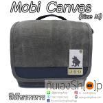 กระเป๋ากล้อง Mobi Canvas Size M สำหรับกล้อง Mirrorless สีเขียวทหาร