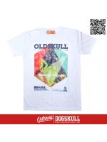 เสื้อยืด OLDSKULL : EXPRESS 113 NATIONALITY COLORING   WHITE XL
