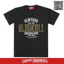 เสื้อยืด OLDSKULL : ULTIMATE HD #08   LIGHT BLACK
