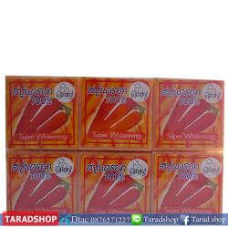สบู่แครอทแท้ 100% Galong ( ชนิดแพ็ค)