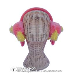 สะเปาปิดหู กันหนาว สีชมพูผสม (ผู้หญิง)