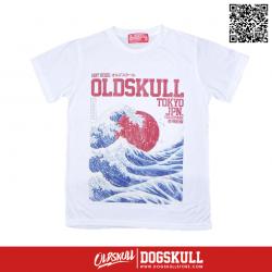 เสื้อยืด OLDSKULL : EXPRESS #37   White